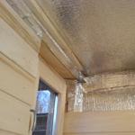 Какой утеплитель выбрать для потолка бани