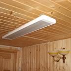Как выбрать инфракрасный обогреватель потолочного типа