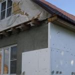 Самостоятельное утепление стен снаружи дома пенопластом