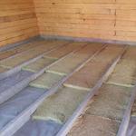 Утепление деревянного и бетонного пола дома