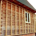Утепление дома из дерева с наружной стороны