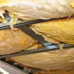 Утепление потолка при помощи минваты