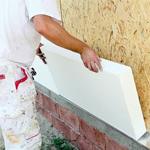 Утепление стен пенопластом с наружной стороны дома