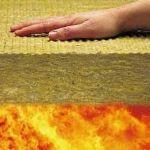 Виды и характеристики огнестойкой теплоизоляции