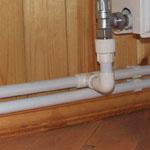 Двухтрубная система обогрева частного дома