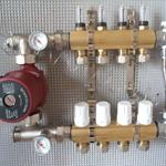 Коллектор для систем отопления и теплого пола