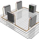 Устройство однотрубной системы отопления загородного дома