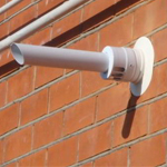 Коаксиальная труба для газовой системы отопления