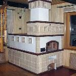 Отделка печей и каминов плиткой