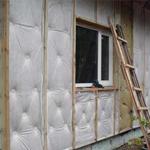 Технология наружного утепления дома