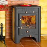 Как выбрать дровяную печь-камин для загородного дома