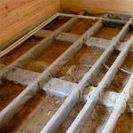 Методы утепления деревянного пола - обзор утеплителей