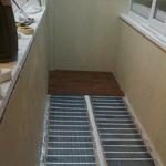 Организация теплого пола на балконе и лоджии