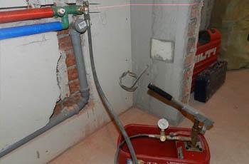 Как проводится опрессовка и промывка отопительной системы