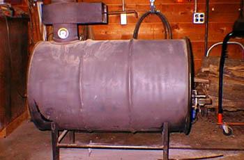 Как самостоятельно сделать газогенераторную печь