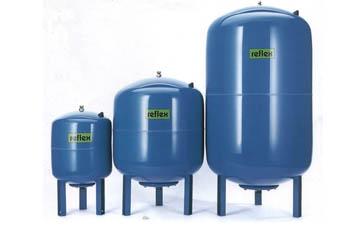 Мембранный расширительный бак системы отопления Рефлекс