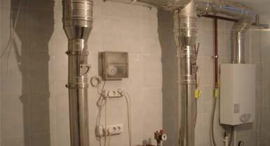 Обустройство системы вентиляции в котельной загородного дома