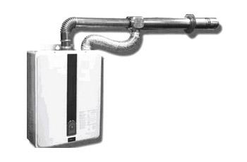 Вытяжная дымоходная труба для газового котла